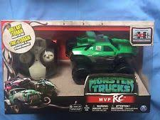 monster trucks movie green mvp rc remote control vehicle car spin