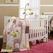 bedding sets for baby girls jungle crib bedding creative ideas of baby cribs