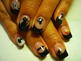 picture 4 of 5 latest trend halloween nail designs ideas photo