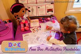 doc mcstuffins wrapping paper doc mcstuffins slumber party and free printables