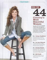country u0027s most beautiful women issue shania twain terri clark