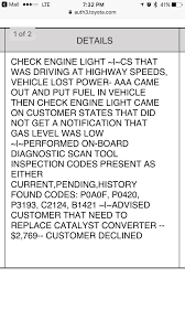 toyota check engine light codes i just got my 2008 toyota prius diagnoses due to a check engine