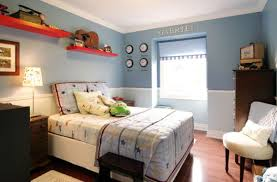Cool And Contemporary Boys Bedroom Ideas In Blue - Boys bedroom colour ideas