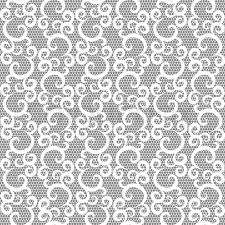 white lace white lace seamless pattern on gray background stock vector