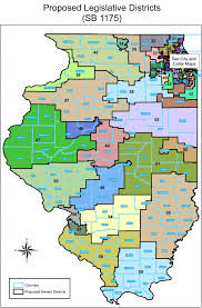 Illinois State Map by Proposed Illinois General Assembly Redistricted Maps Wcrcc