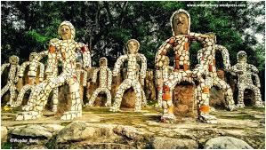 Nek Chand Rock Garden Rockgarden A Created By Late Nek Chand Dedicated To The