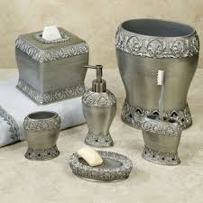alexa silver bath accessories