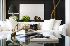 White Sofa Living Room Ideas Decorating Ideas Beautiful Living Room Modern Black White