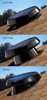 the solar star attic fan can be placed multiple ways