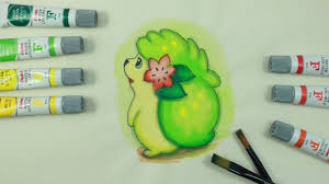 shaymin pokemon coloring pages youtube