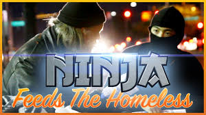 feed the homeless on thanksgiving ninja feeds the homeless youtube