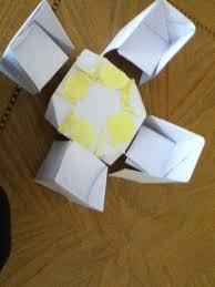 How To Make A Cardboard Chair Origami Chair Folding Instructions How To Make An Origami Chair