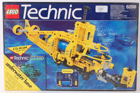 lego technic sets lego an original vintage lego technic 8299 underwater set