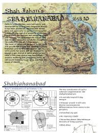 Walled Garden City Guilds by Shahjahanabad The Walled City Of Delhi Religion And Belief