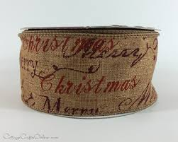 christmas wired ribbon christmas script ribbon wired ribbon christmas holidays