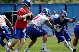 the reason olivier vernon was running by himself after practice