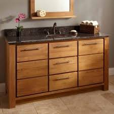 Teak Vanity Bathroom by 60