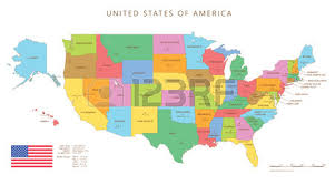 united states map with names of states and capitals silhouette and colored united states map with names and capitals