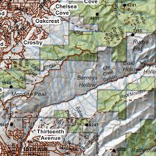 Utd Map Chalk Creek East Canyon Morgan South Rich Utah Mule Deer Hunting