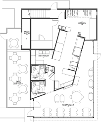 wonderful restaurant kitchen remodel open floor plan full version