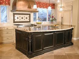 country style kitchen islands cabinets drawer traditional open country style