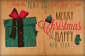 we wish you a merry and a happy new year kent isd