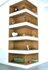 Corner Bookcase Wood Corner Bookshelf Rounded Corner Shelf Corner Shelf Bookcase