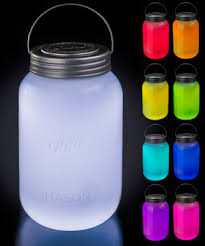 jar led l multi color glowing jar