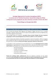 les chambres consulaires note position chambres consulaires des pays de la loire strategie r