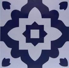 casablanca blue vinyl floor tiles furnishings fittings home