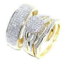 wedding rings trio sets for cheap wedding rings his and wedding rings beautiful cheap wedding