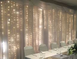 wedding backdrop fairy lights the fairy light backdrop the table would be a