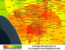 Map Los Angeles Los Angeles Crime Map Indiana Map