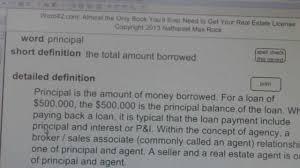principal ca real estate license exam top pass words vocabubee com
