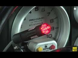 msd programmable digital shift light msd digital shift lights ignition installation tutorial how to