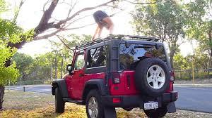 gobi jeep jeep with gobi roof rack youtube