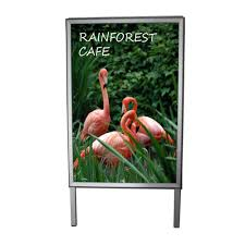 A Frame For Sale Pop Display And Sign Retail Displays Retail Signs Store Sign