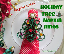 tree napkin rings easy diy