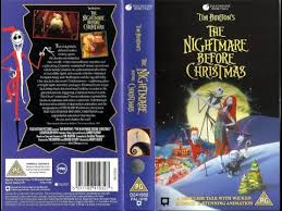 the nightmare before 1995 uk vhs