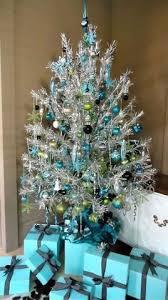 retro silver tinsel tree tinsel tree