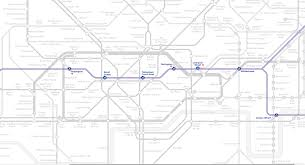 Elizabeth Colorado Map by This New Map Shows How The Elizabeth Line Will Look On The Tube