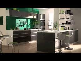 cuisine platine but table incorporée alu brossé modèle cuisine design italien