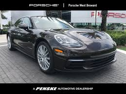 porsche chalk new porsche panamera cars serving south florida hollywood