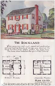 house plans 1950s colonial house floor plan cottage home plans