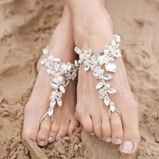 starfish barefoot sandals foot jewelry for wedding starfish barefoot sandals wedding
