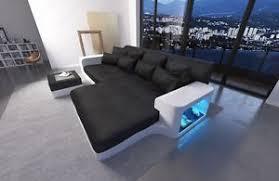 Modern Sofas San Diego Modern Sofa Leather Sofa San Diego With Led Lights Sectional