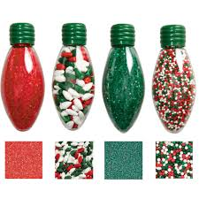 light bulb sprinkle set wilton