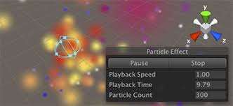 unity effects tutorial unity manual using particle systems in unity