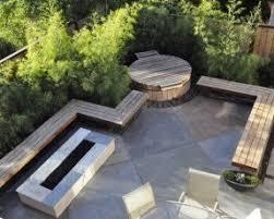 modern patio modern patio bench foter