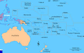pacific region map amphibiaweb south pacific region map search